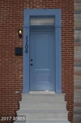1106 North Bond Street, Baltimore MD