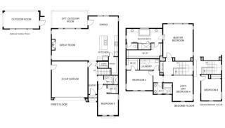 Residence 2 Plan in The Reserve, Hayward, CA