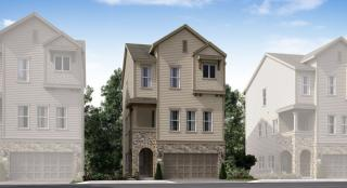 Pinnacle Plan in Knoll Park : Skyline Collection, Houston, TX