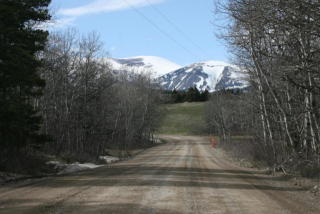 Nhn Heart Butte Cutoff, East Glacier Park MT