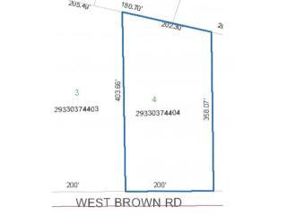 Lot 4 West Brown Road, Sobieski WI