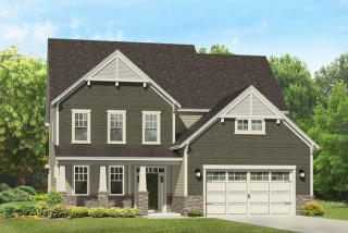 Clark Craftsman Plan in Hanover Reserve, Wilmington, NC
