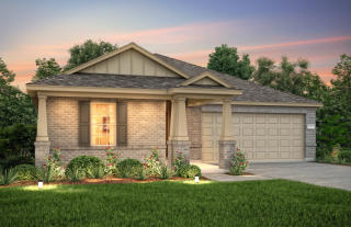Larkspur Plan in West Fork Ranch, Fort Worth, TX