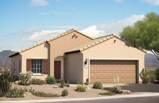 Desert Spoon Plan in Parkside at Anthem at Merrill Ranch, Florence, AZ