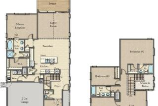 Barclay Plan in Park Place in Cadence, Henderson, NV