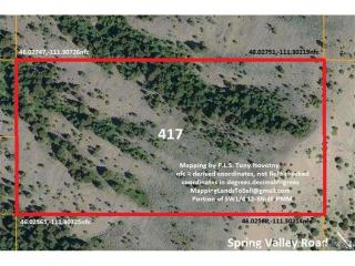 Tract 417 Spring Valley Road, Three Forks MT