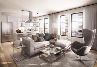 Two Bedroom Plan in Key&Nash Rosslyn Condos, Arlington, VA