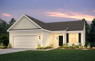 Castle Rock Plan in The Enclave at Fieldstone Preserve, Strongsville, OH
