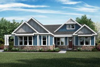 Everett Plan in Bridle Creek Ranch, Washington Township, OH