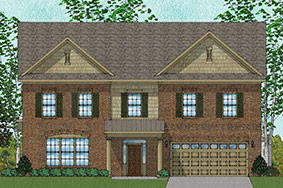 Elite - Duvall Plan in Heritage Estates, Harvest, AL