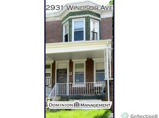2931 Windsor Ave, Baltimore, MD