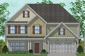 Vanguard - Victor Plan in Heritage Estates, Harvest, AL