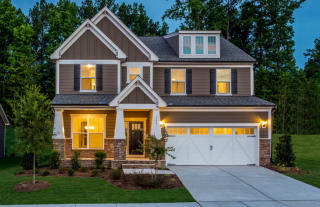 Continental Plan in Jordan Manors, New Hill, NC