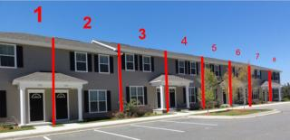 8-Unit Building - 24BR/24BA Plan in University Green Student Condominiums, Tallahassee, FL