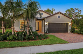 Summerwood Plan in Cypress Falls at The Woodlands, North Pt, FL