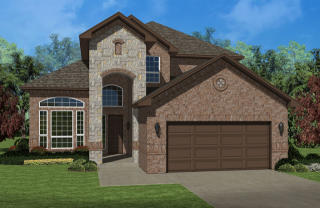 The Magnolia Plan in Huntington Estates, Fort Worth, TX