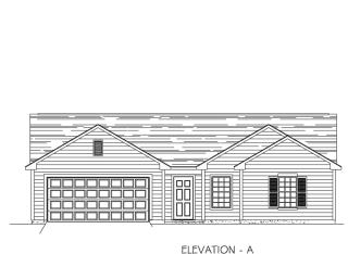 Livingston Plan in Grey Hawk, Fort Wayne, IN