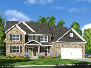 Monarch Plan in Flagstone Woods, Noblesville, IN