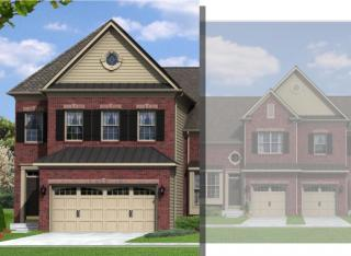 Lancaster (Townhome) Plan in The Fields at Blue Barn Meadows, Allentown, PA