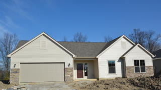 Monterey Floor Plan in Rothman Pointe, Fort Wayne, IN