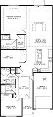 Laurel Interior Plan in Arbours at Eagle Pointe, Philadelphia, PA