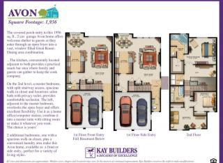 Avon (Townhome) Plan in The Fields at Blue Barn Meadows, Allentown, PA
