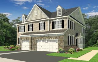 Rittenhouse with 2-Car Garage Plan in Colebrook, Chalfont, PA