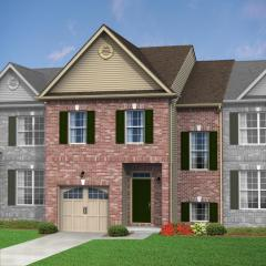 Caldwell (Townhome) Plan in The Fields at Blue Barn Meadows, Allentown, PA