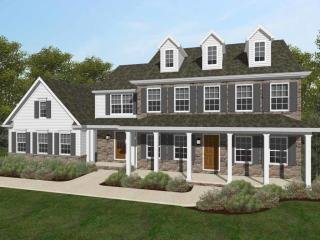 Lexington Traditional Plan in Ballymeade, Lincoln University, PA