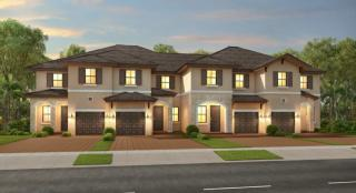 Eden Plan in AquaBella : The Blossom Collection, Hialeah, FL