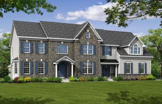 The Greenbrier Plan in Highfield Estates, Chalfont, PA