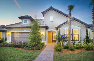 Abbeyville Plan in Cypress Falls at The Woodlands, North Pt, FL