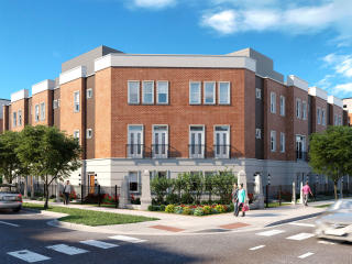 14th Place - Unit E Plan in University Village Row Homes, Chicago, IL