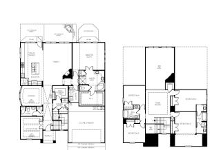 The Larkspur Plan in Bella Colinas - Estates, Bee Cave, TX