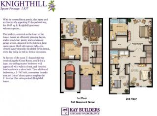 Knighthill (Townhome) Plan in The Fields at Blue Barn Meadows, Allentown, PA