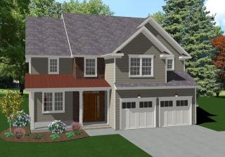 The Radnor Plan in Keswick Pointe, Blakeslee, PA