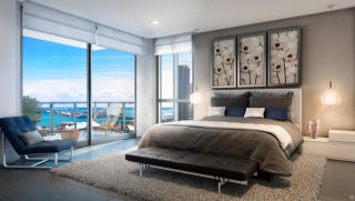 A1 Plan in Canvas Condo, Miami, FL