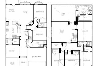 Bryson (1470) Plan in The Oaks of Northchase & Northchase Cove, San Antonio, TX