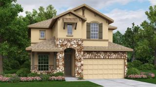 Mesa Plan in Greyrock Ridge, Austin, TX