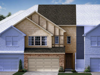 The Williamsburg Plan in Village at The Pointe, The Colony, TX