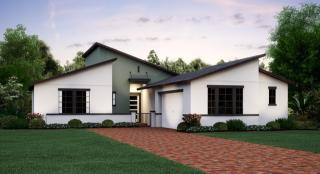 Nevada Plan in Bexley : Bexley Courtyard, Land O Lakes, FL