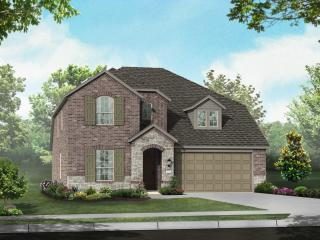 Plan Richmond in Highlands at Mayfield Ranch 50s, Round Rock, TX
