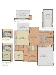 Hillcrest Plan in Harpers Mill, Chesterfield, VA