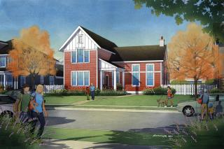 Clearwater Plan in Hill Farms, Kaysville, UT