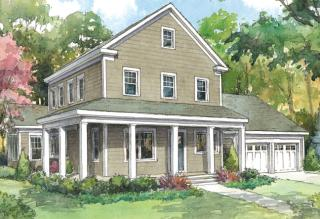 The Colonial Plan in Black Birch II, Concord, MA