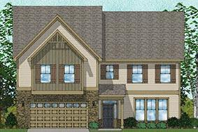 Vanguard - Worthing Plan in Poplar Creek Village, Knightdale, NC