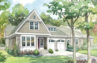 The Carriage House I Plan in Black Birch II, Concord, MA