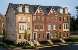 The Devon II Plan in The Towns at Totten Mews, Washington, DC