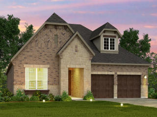 The Yellow Rose Plan in Creekside at Austin Waters - The Chalets, The Colony, TX