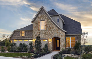 Cliffside Plan in Vista Bella, San Antonio, TX
